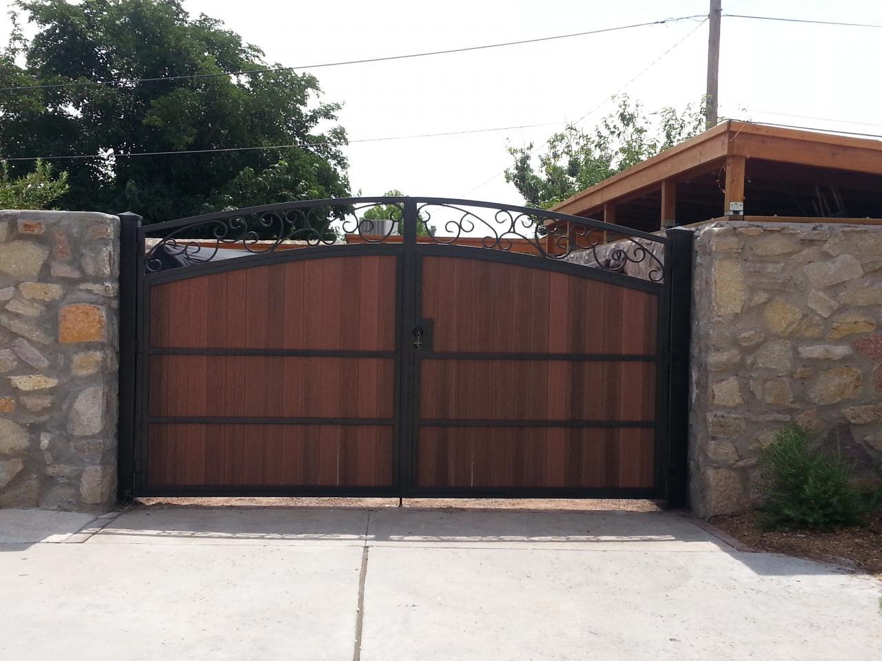El Paso Custom Iron Works Iron Amp Wood Gates
