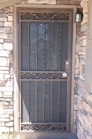 El Paso Custom Iron Works Doors