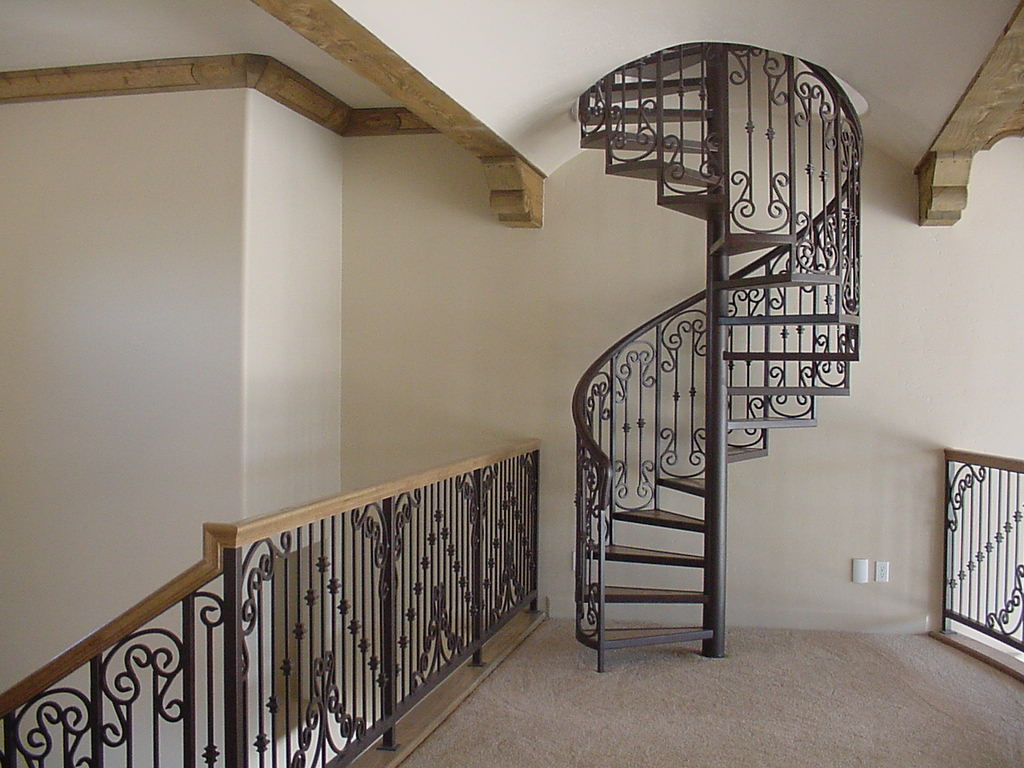 El Paso Custom Iron Works Spiral Staircases
